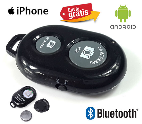 Control remoto bluetooth para movil