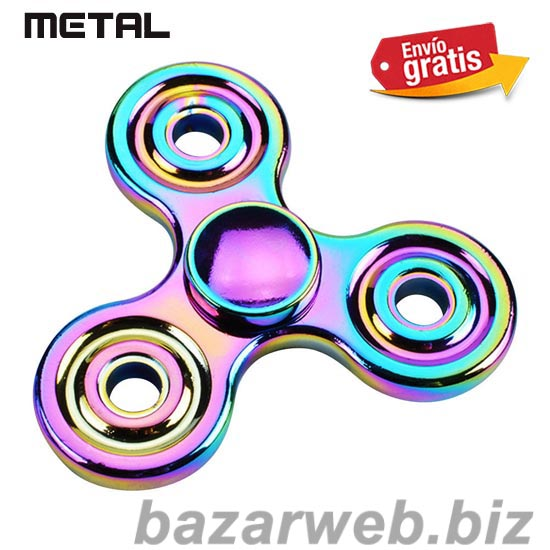 FIDGET SPINNER METAL BICOLOR ANTI STRESS