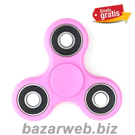 FIDGET SPINNER AZUL ANTI STRESS COLOR ROSA