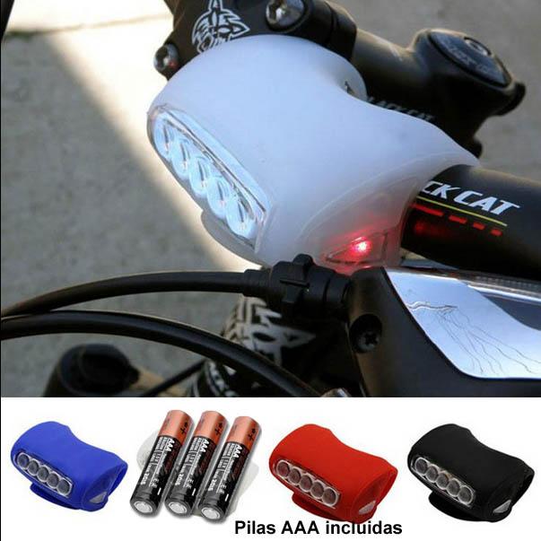 fab002fd3 Luces led de silicona para bicicleta. Codigo    LUCES LEDS SILICONA