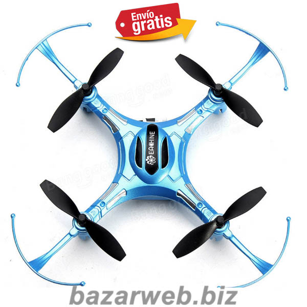 MINI DRONE QUADCOPTER DE 4 MOTORES COLOR AZUL