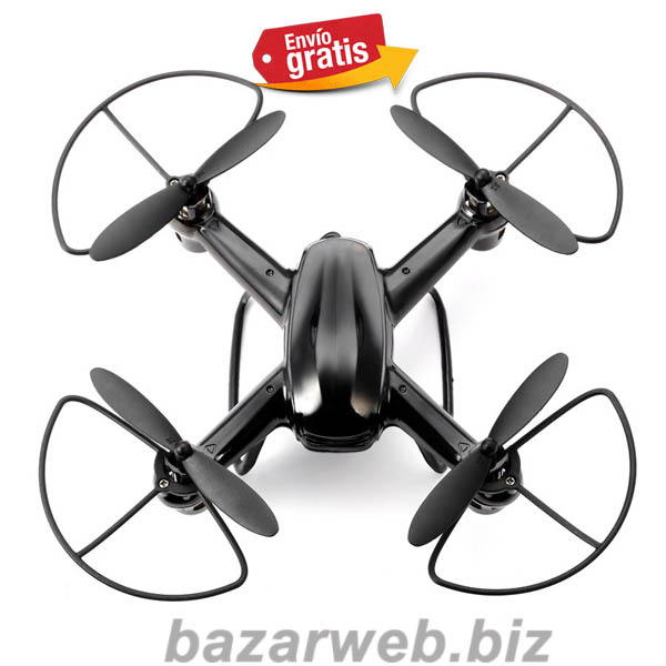 MINI DRONE QUADCOPTER 4 MOTORES NEGRO