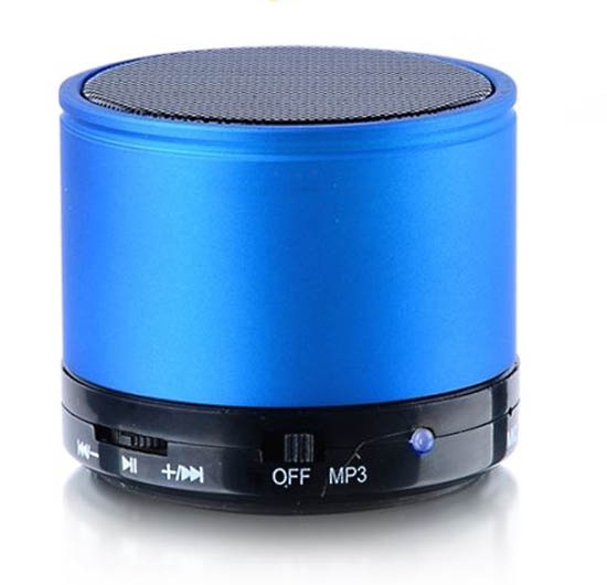 Reproductor Mp3 Bluetooth Azul