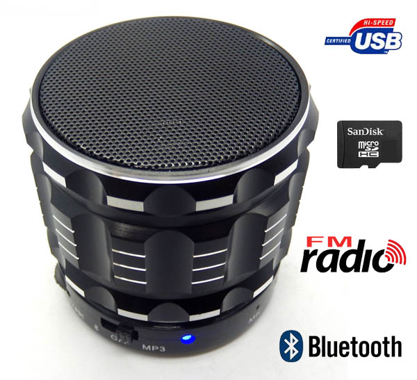 Reproductor bluetooh musica mp3 radio, usb TF micro SD